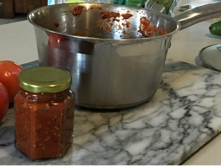 Home made BBQ sauce